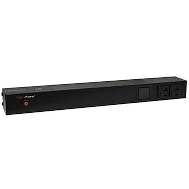 CyberPower® PDU20M2F12R Metered Power Distribution Unit, NEMA 5-20P