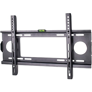 SIIG® CEMT0H11S1 Low-Profile Universal Wall Mount, Up To 132 lbs.