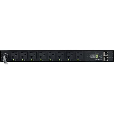 CyberPower® PDU20SW8FNET 1 Switched Power Distribution Unit, NEMA 5-20P