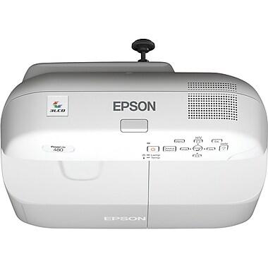 Epson® Powerlite® V11H485020 Series 480 Projector, 3000 Lumens