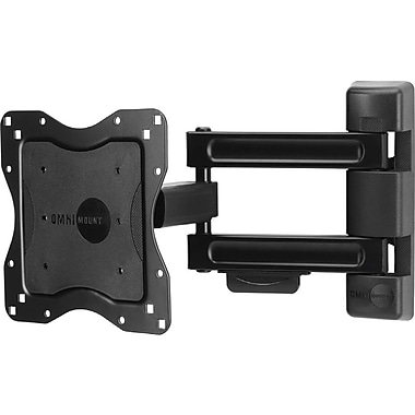 OMNIMOUNT® NC80C Medium Full Motion Wall Mount, Up To 80 lbs.