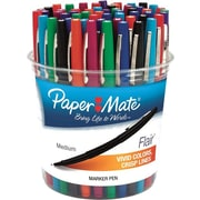 Paper Mate® Liquid Flair® Pen, Porous Medium Point, Assorted Colors, 48/pk (4651)