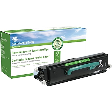 Sustainable Earth by Staples™ Remanufactured Laser Toner Cartridge, Lexmark X264 Black