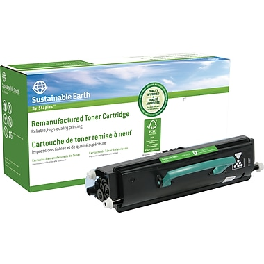 Sustainable Earth by Staples™ Remanufactured Laser Toner Cartridge, Lexmark E240 Black