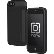 Incipio Side Stowaway Case for iPhone 5, Black