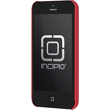 Incipio Feather Case for iPhone 5, Red