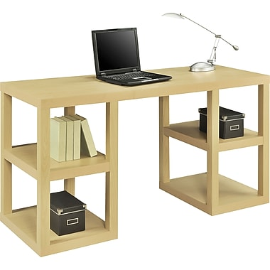 Altra Deluxe Parsons Desk, Natural