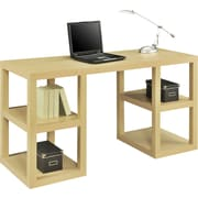 Altra® Deluxe Parsons Desk, Natural