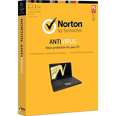 Norton Anti-Virus 2013 for Windows (1-5 User) [Boxed]