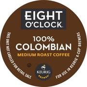 Keurig® K-Cup® Eight O'Clock 100% Colombian Coffee, Regular, 18/Pack