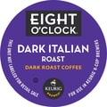 Keurig K-Cup Eight O'Clock Dark Italian Roast Coffee, Regular, 18/Pack
