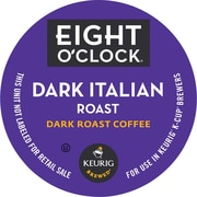 Keurig® K-Cup® Eight O'Clock® Dark Italian Roast Coffee, Regular, 18/Pack