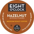 Keurig K-Cup Eight O'Clock Hazelnut Coffee, Regular, 18/Pack