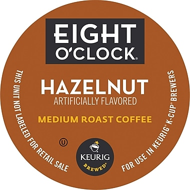 Keurig® K-Cup® Eight O'Clock® Hazelnut Coffee, Regular, 24/Pack