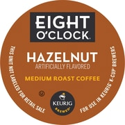 Keurig® K-Cup® Eight O'Clock® Hazelnut Coffee, Regular, 18/Pack
