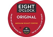 Keurig® K-Cup® Eight O'Clock® Original Coffee, Regular, 18/Pack