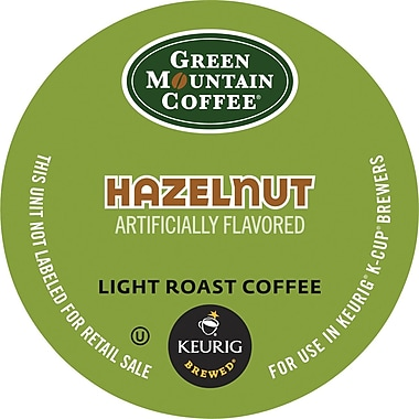 Keurig K-Cup Green Mountain Hazelnut Coffee, 18 Pack