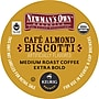Keurig K-Cup Newmans Own Cafe Almond Biscotti Coffee,