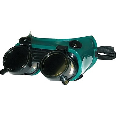 Fibre-Metal® Green Reinforced Flexible Plastic Frame Lift Front Welding Goggles