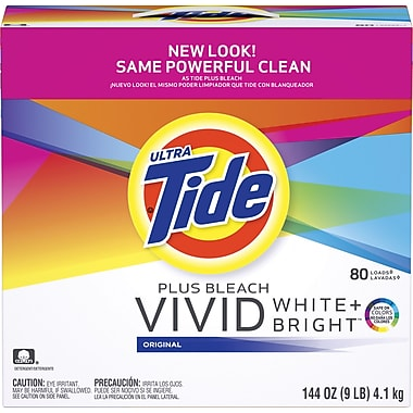 Tide® Powder Laundry Detergent with Bleach, 144 oz.