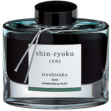 Pilot® Iroshizuku Bottled Ink For Fountain Pens, Each, Deep Green