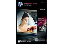 HP Premium Plus Photo Paper, 4' x 6', Soft Gloss, 100/Pack