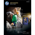 HP Advanced Photo Paper, 8 1/2in. x 11in., Glossy, 100/Pack