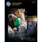 HP Advanced Photo Paper, 8 1/2 x 11, Glossy, 100/Pack
