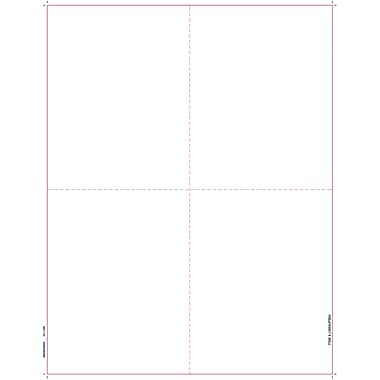 TOPS W-2 Tax Form, 1 Part, White, 8 1/2in. x 11in.,  2000 Sheets/Pack