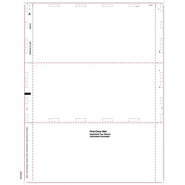 TOPS1099 Blank Tax Form, 1 Part, White, 8 1/2in. x 11in.,  500/Pack