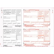 "TOPS® W-2 Tax Form, 6 Part 2 Wide, White, 14 7/8"" x 5 1/2"", 100 Forms/Pack"