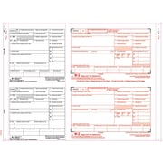 "TOPS® W-2 Tax Form, 8 Part 2 Wide, White, 14 7/8"" x 5 1/2"", 100 Forms/Pack"