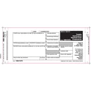 TOPS™ 1099PATR Tax Form, 2 Part Mailer, White, 9 x 3 2/3, 102 Forms/Pack