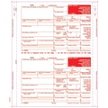 TOPS 1099R Tax Form, 4 Part Mailer, Copy A printed in red, White, 9in. x 5 1/2in., 100 Forms/Pack