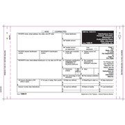 "TOPS® 1099R Tax Form, 4 Part Mailer, White, 9"" x 5 1/2"", 100 Forms/Pack"