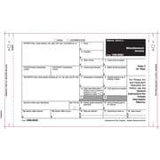 "TOPS® 1099MISC Tax Form, 3 Part, White, 9"" x 5-1/2"", 100 Forms/Pack"