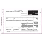 "TOPS® 1099MISC Tax Form, 3 Part Mailer, Undated, White, 9"" x 5 1/2"", 100 Forms/Pack"