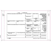 "TOPS® 1099R Tax Form, 4 Part Carbonless, White, 9"" x 5 1/2"", 100 Forms/Pack"