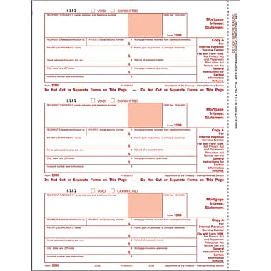 TOPS 1098C Tax Form, 4 Part, White, 9in. x 11in., 100 Forms/Pack