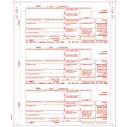 "TOPS® 1098T Tax Form, 4 Part, White, 9"" x 3 2/3"", 102 Forms/Pack"