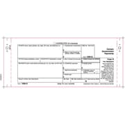 TOPS™ 1099G Tax Form, 1 Part, White, 9 x 3 2/3, 102 Forms/Pack