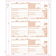 "TOPS® 1098 Tax Form, 4 Part, White, 9"" x 3 2/3"", 102 Forms/Pack"