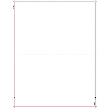 TOPS W-2 Blank Front and Back Tax Form, 1 Part, White, 8 1/2in. x 11in., 2000 Sheets/Carton
