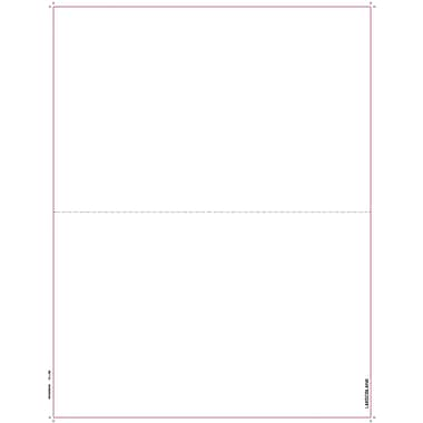 TOPS 1099MISC Tax Form, 1 Part, Blank face with Copy B backer, White, 8 1/2in. x 11in., 50 Sheets/Pack