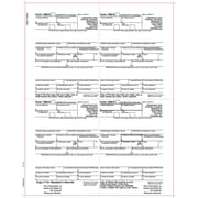 "TOPS® 1099R Tax Form, 1 Part, 4 Up Recipient Copies B, C, 2, 2, White, 8 1/2"" x 11"", 50 Sheets/Pack"