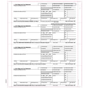 """TOPS® W-2 Tax Form, 1 Part, Employee's copies cut sheet, White, 8 1/2"""" x 11"""", 100 Sheets/Pack"""