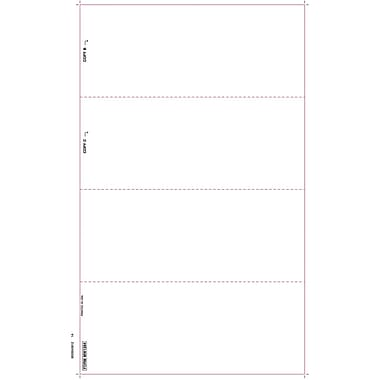 TOPS W-2 Tax Form, 1 Part, White, 8 1/2 x 14in., 50 Sheets/Pack
