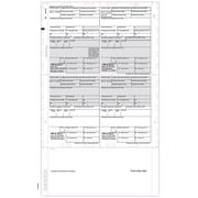 "TOPS® W-2 Tax Form, 1 Part, Cut Sheet, White, 8 1/2 x 14"", 500 Sheets/Pack"