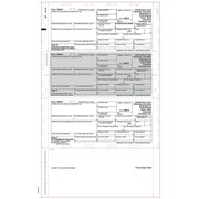 "TOPS® 1099R Tax Form, 1 Part, Cut Sheet, ECC Z FOLD, White, 8 1/2 x 14"", 500 Sheets/Pack"
