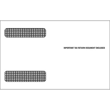 TOPS Gummed Double Window Envelope for MW225 Tax Form, 24 lb., White, 5 5/8in. x 9in., 100/Pack